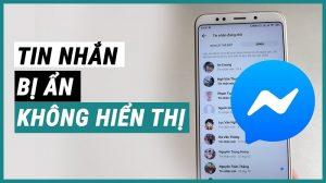 cách bỏ ẩn tin nhắn trên messenger